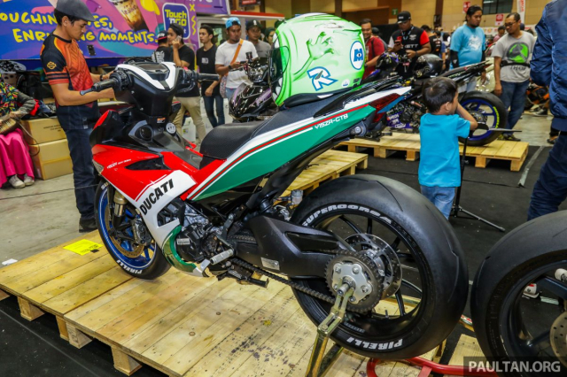 Exciter 150 lot xac sieu doc voi phong cach Ducati Panigale Final Edition - 5