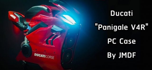 Ducati Panigale V4 R duoc mo phong song dong voi thiet ke vo CPU