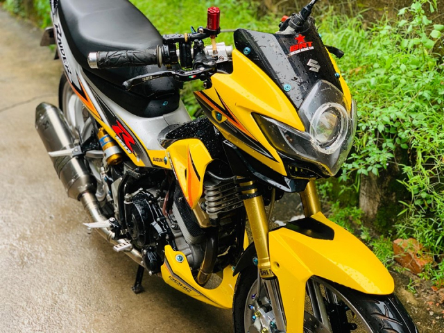 Review Suzuki Satria Raider Fu don khung - 7