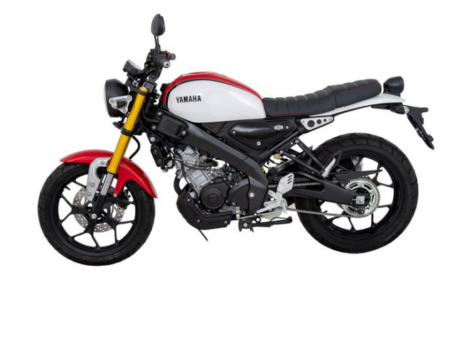 Yamaha XSR 155 2019 lo dien voi phong cach co dien co gia 68 trieu dong - 9