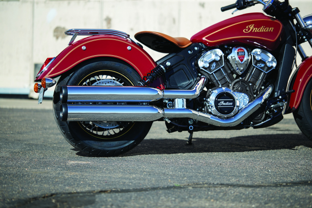 Indian tiet lo Scout Bobber Twenty va Scout 100th Anniversary moi voi ngoai hinh hoan hao - 13