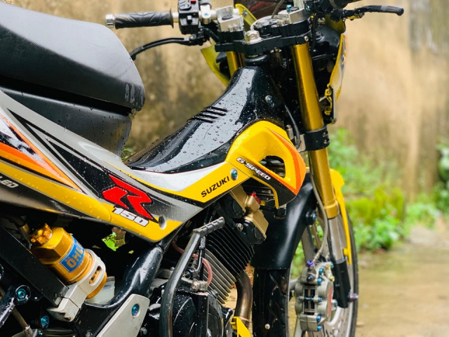 Review Suzuki Satria Raider Fu don khung - 5