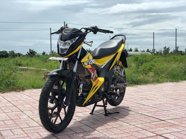 Sonic 150 do day suc hut voi bo canh vang ong anh lung linh - 7