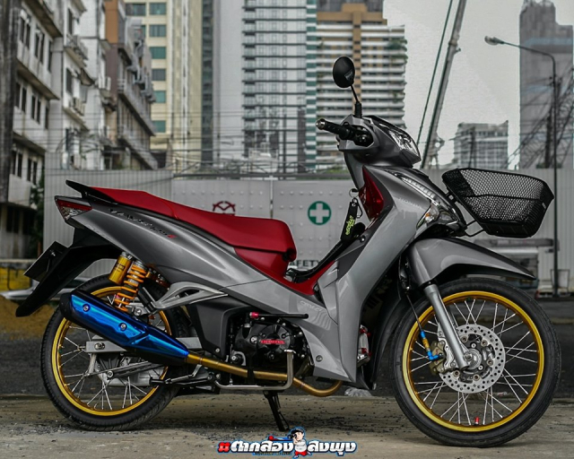 Wave 125 2019 ban do mang dap chat choi cua biker ThaiLand