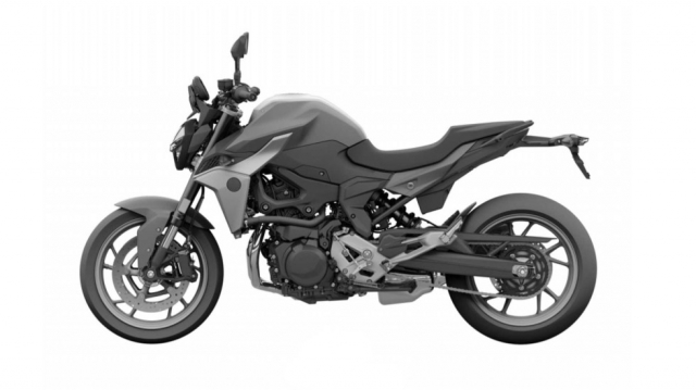 BMW F850 R hoan toan moi duoc tiet lo hinh anh tong the truoc ngay ra mat - 4