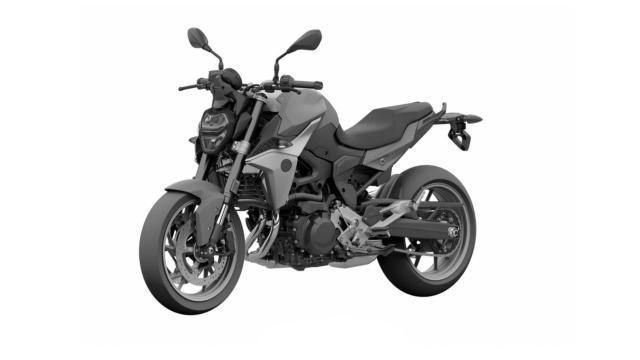BMW F850 R hoan toan moi duoc tiet lo hinh anh tong the truoc ngay ra mat