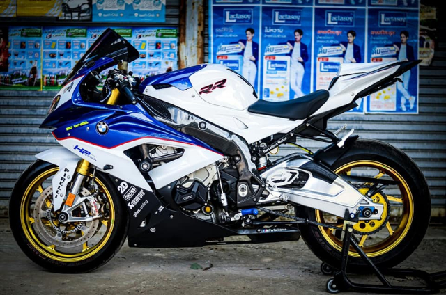 BMW S1000RR do kich tinh trong dien mao HP4 - 8