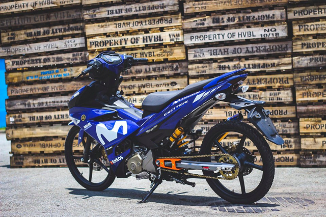 Exciter 150 don so so day gon gang voi phong cach KingDrag - 6