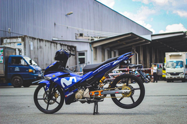 Exciter 150 don so so day gon gang voi phong cach KingDrag - 9