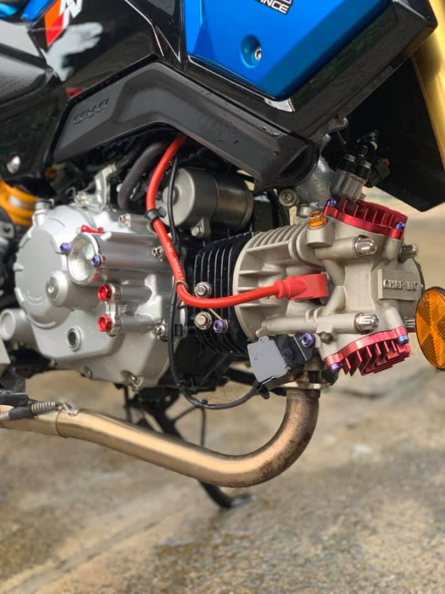MSX 125 do cuc chat voi dau long 4 valve tai Ba RiaVung Tau - 4