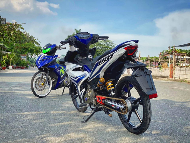 Exciter 150 do gon gang hon gap 10 lan voi dan chan luoi lam - 4