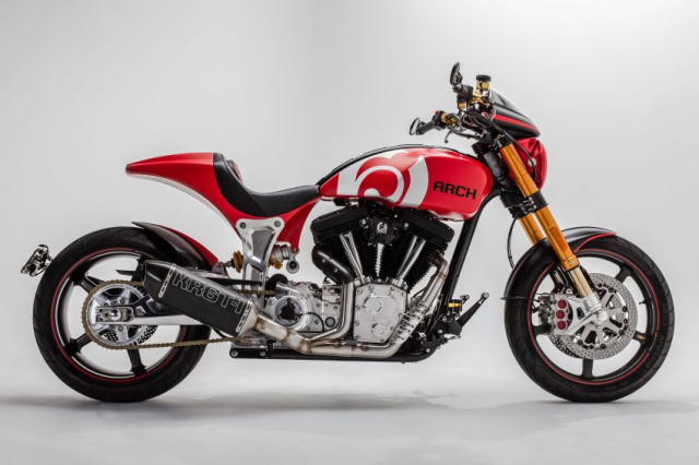 Ra mat Arch Motorcycle KRGT1 2020 voi gia gan 2 ty VND - 13