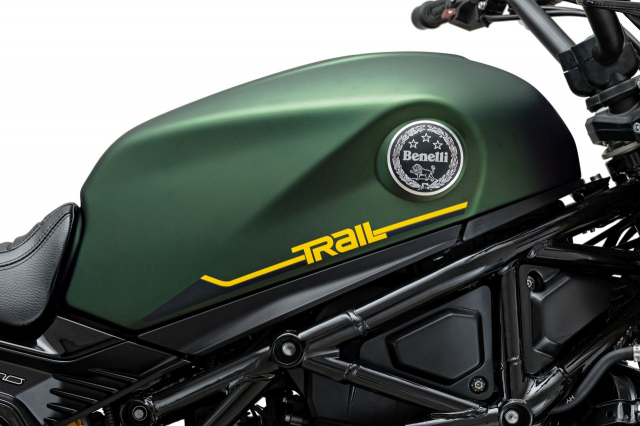 Ra mat Benelli Leoncino 800 Trail the he moi - 5