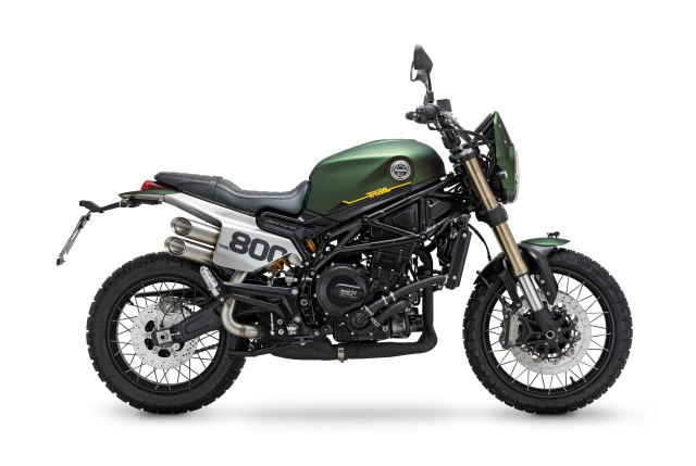 Ra mat Benelli Leoncino 800 Trail the he moi - 11