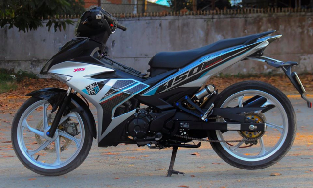 Exciter 150 do nhe nhang theo phong cach Y15ZR dep nhat toi tung thay - 13
