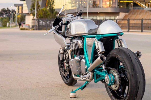 Royal Enfield Continental GT 650 do Cafe Racer mang ten Project RE - 11
