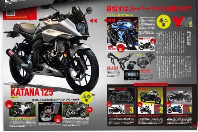 Suzuki Katana 150 co the se lo dien trong nam 2021 - 2