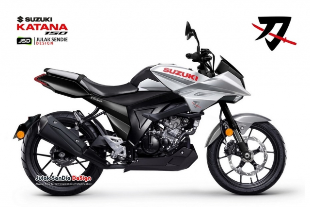 Suzuki Katana 150 co the se lo dien trong nam 2021