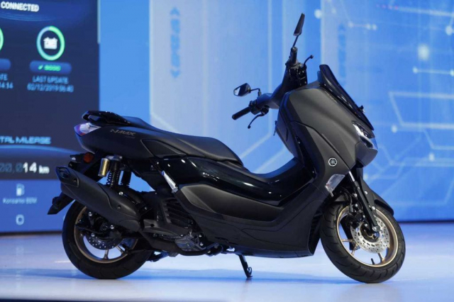 Yamaha NMax 2020 chinh thuc trinh lang voi dien mao day an tuong - 3