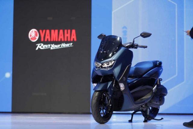 Yamaha NMax 2020 chinh thuc trinh lang voi dien mao day an tuong