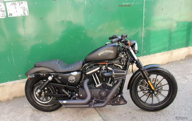 ___ Can Ban ___HARLEY DAVIDSON Iron 883 ABS 2015 Keyless___ - 3