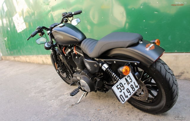 ___ Can Ban ___HARLEY DAVIDSON Iron 883 ABS 2015 Keyless___ - 7