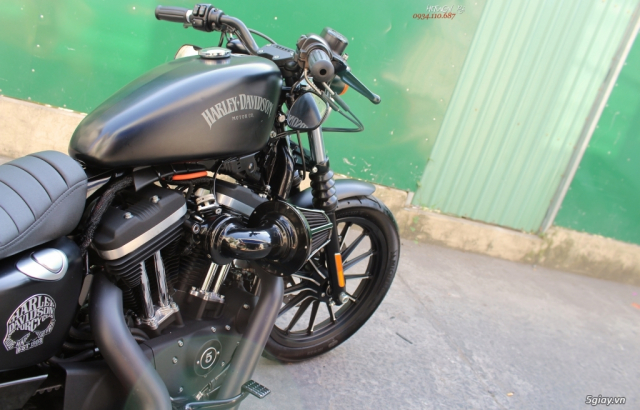 ___ Can Ban ___HARLEY DAVIDSON Iron 883 ABS 2015 Keyless___ - 9