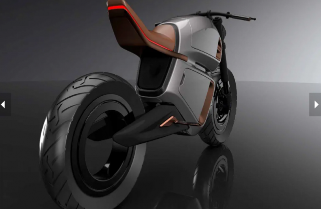 Hubless NAWA Racer Concept duoc tiet lo co cong nghe pin hybrid moi - 4