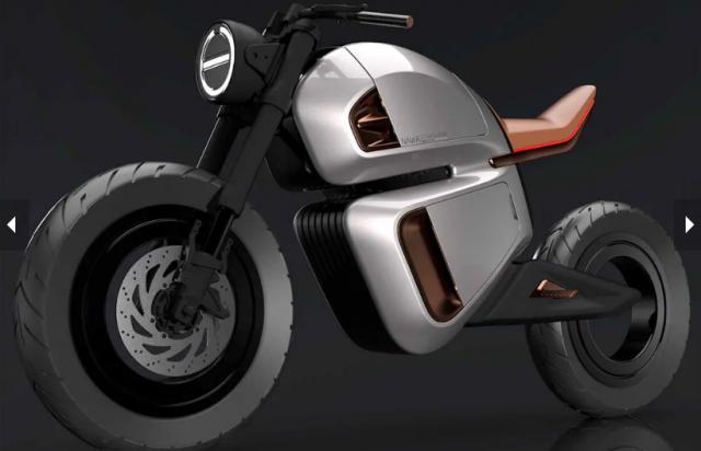 Hubless NAWA Racer Concept duoc tiet lo co cong nghe pin hybrid moi