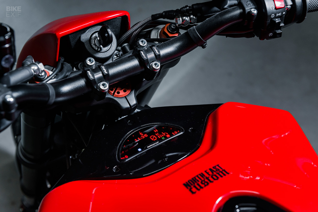 Ducati Multistrada do lai theo phong cach Cafe Racer - 7