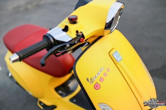 Vespa Sprint do hut nguoi xem bang cap mam CNC do chet - 6