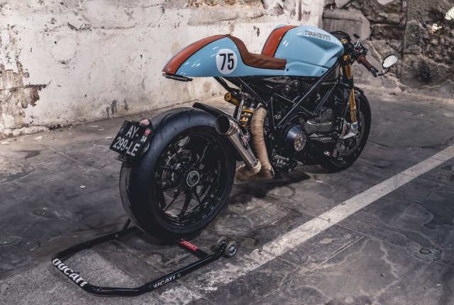 Ducati 1098S do an tuong voi phong cach Streetfighter - 10