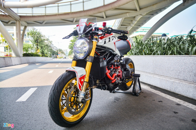 Ducati Monster 821 update 1200 voi gia tri nua ty dong