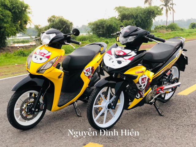 Exciter 150 do phong cach Racing Boy thu thiet - 3