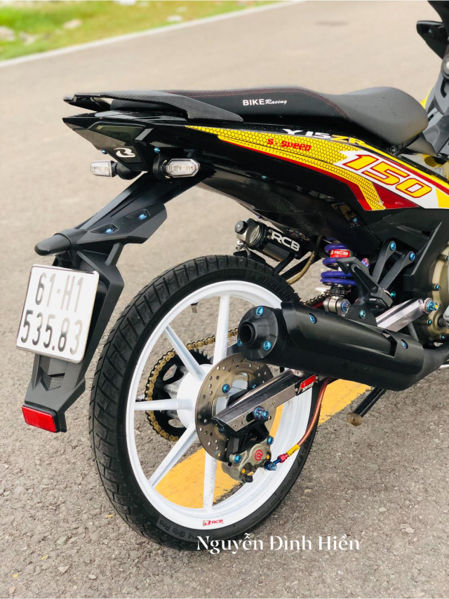 Exciter 150 do phong cach Racing Boy thu thiet - 10