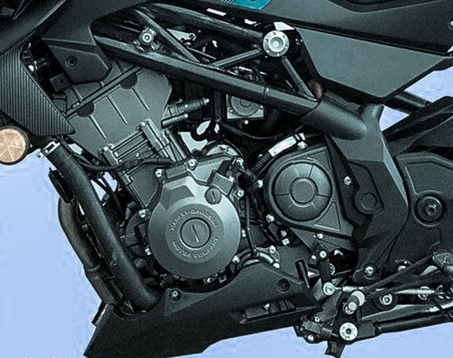 HarleyDavidson HD350 se dung chung dong co voi Benelli 350S - 5