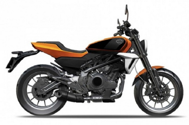 HarleyDavidson HD350 se dung chung dong co voi Benelli 350S - 9