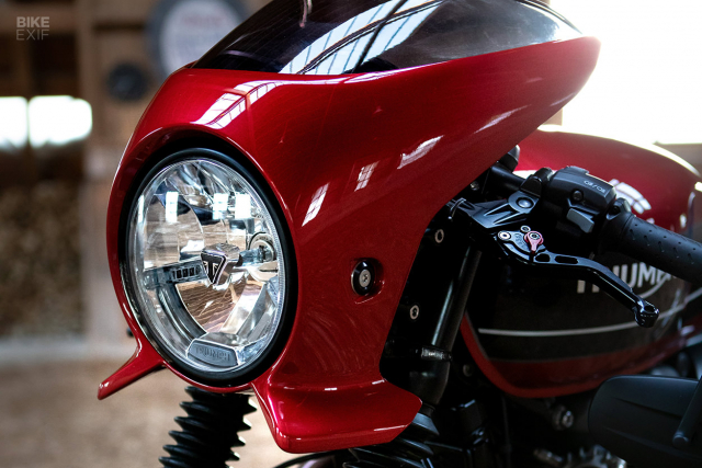 Triumph Speed Twin do phong cach Cafe Racer an tuong