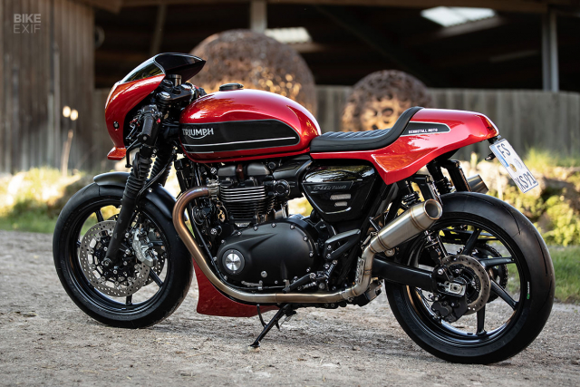 Triumph Speed Twin do phong cach Cafe Racer an tuong - 9