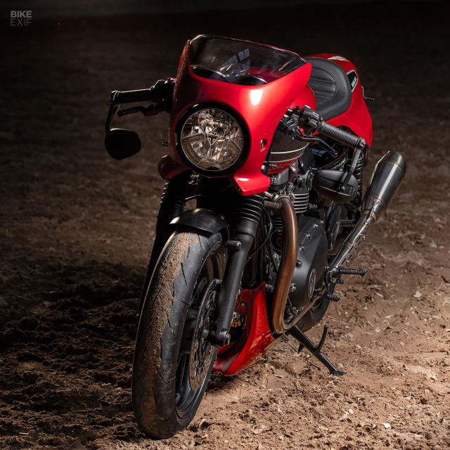 Triumph Speed Twin do phong cach Cafe Racer an tuong - 5