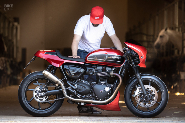 Triumph Speed Twin do phong cach Cafe Racer an tuong - 10