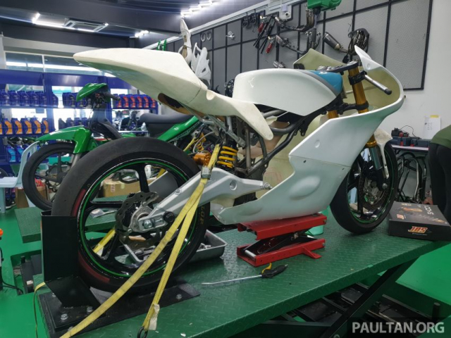 Exciter 150 do chay san Moto3 se dinh nhu the nao - 4