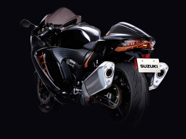 Suzuki tu choi su dung dong co Supercharger tren Hayabusa 2021 dau la ly do - 15