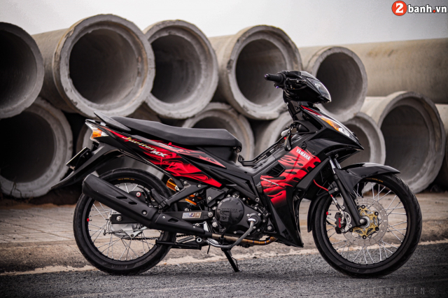 Exciter 135 do phong thich ban than voi tong mau day noi loan - 30