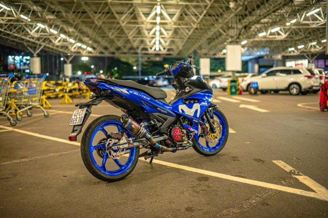 Exciter 150 pha cach trong dan chan be ti teo - 3