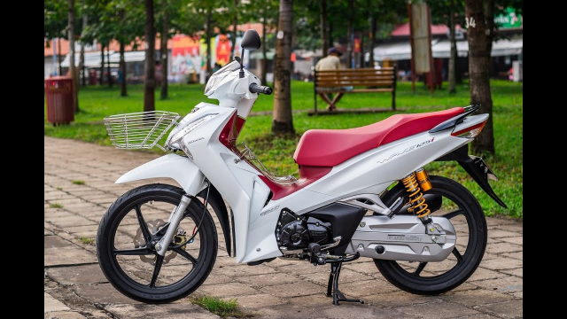 Cach bien Future 125 thanh Wave 125i chi voi vai duong quyen - 13
