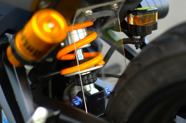 Ngam Exciter 150 do dan chan Brembo xin dung noc - 8