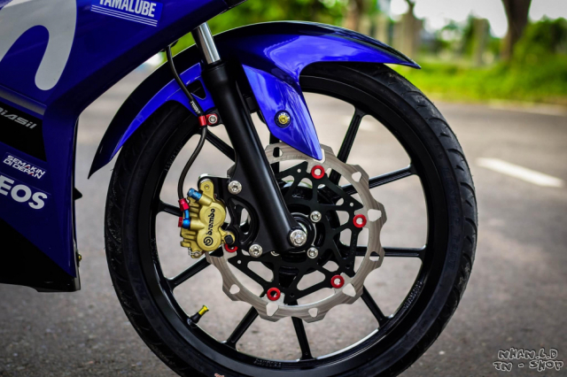 Exciter 150 Style Movistar dep ngat ngay cua biker mien Tay - 6
