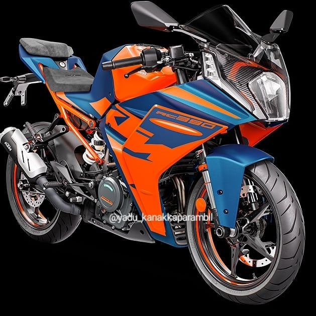 Chi tiet KTM RC 390 2022 lo dien gay nhieu that vong - 3