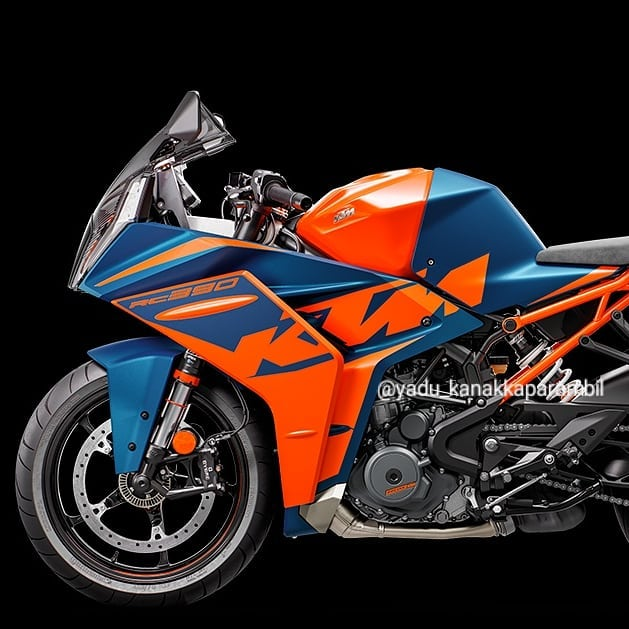 Chi tiet KTM RC 390 2022 lo dien gay nhieu that vong - 5